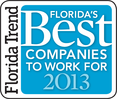 2013 Florida's Best companies to work for