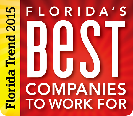 2015 Florida Best Companies to work for
