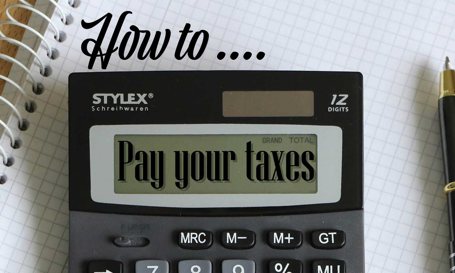 How to pay your taxes