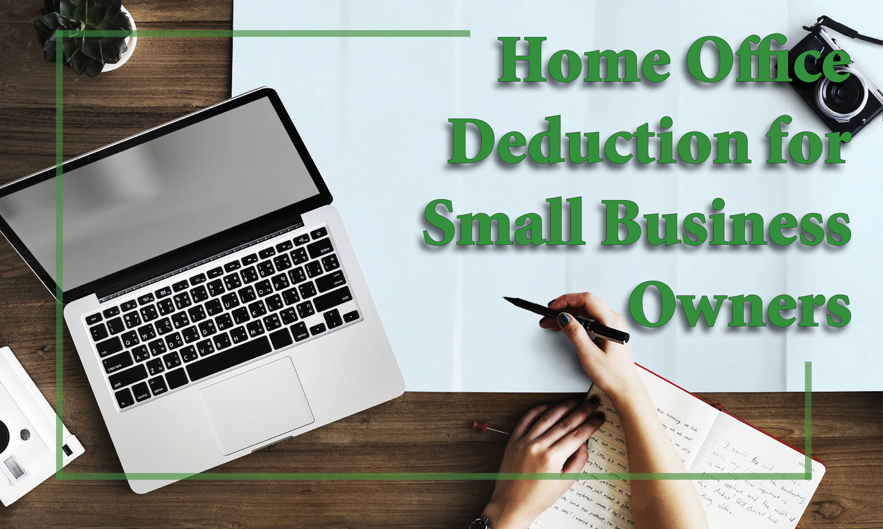 Home Office Deduction Benefits eligible small business owners