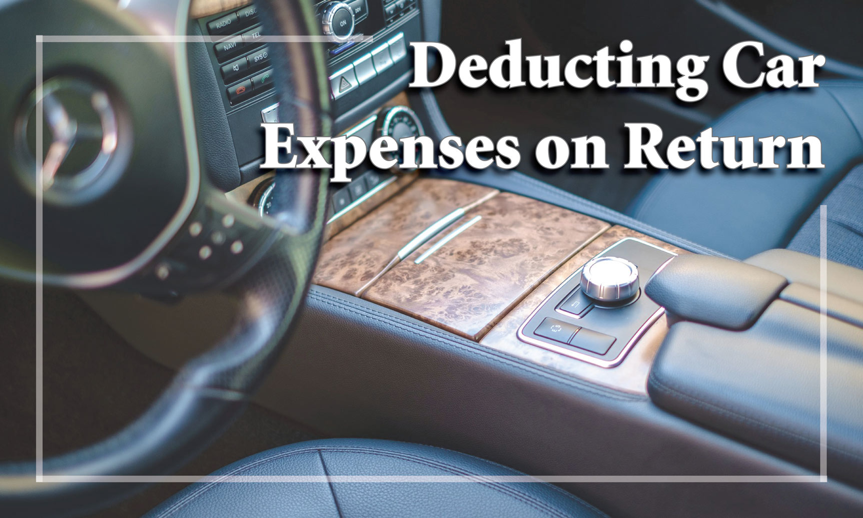 Who can deduct car expenses on their tax returns?