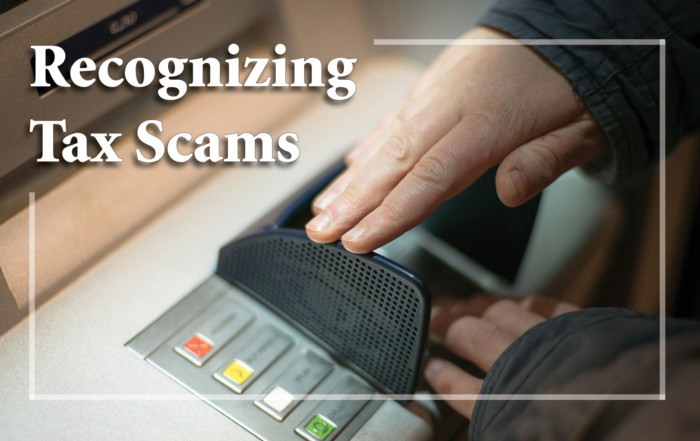 Recognizing Tax Scams