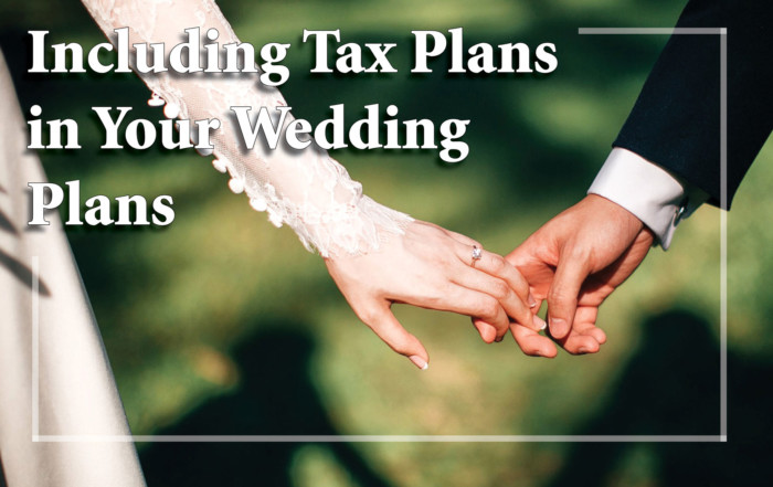 Wedding Tax Plans
