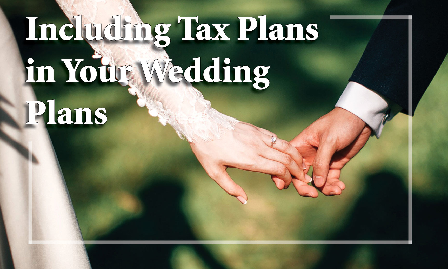 Wedding Tax Plans