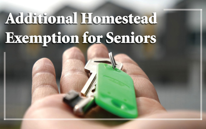 Homestead Exemption for Seniors