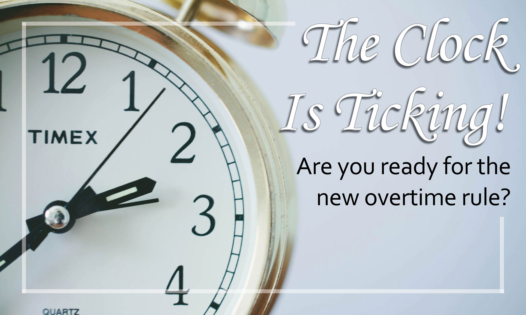 Breaking News Regarding Employee Overtime Salary Rule