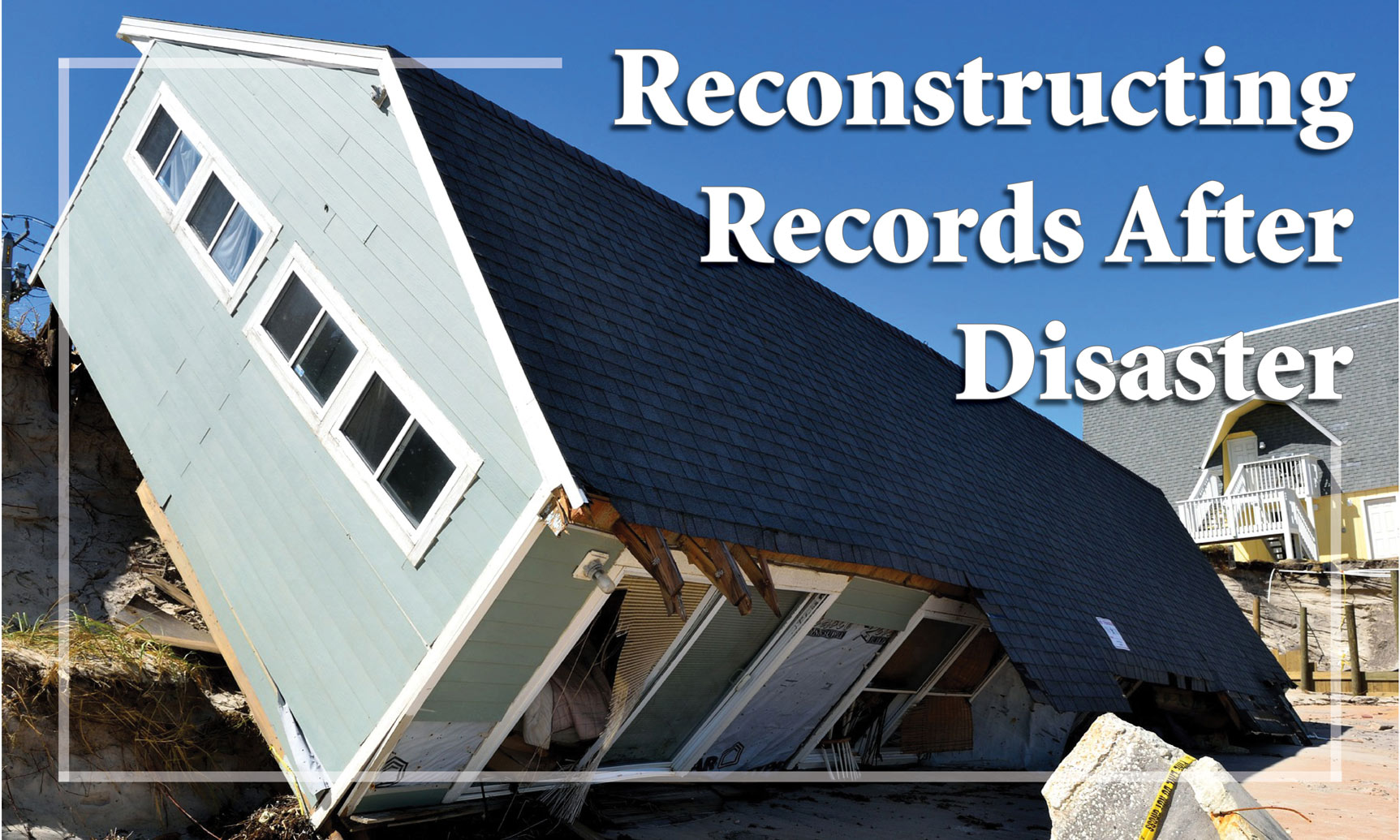 Records after a Disaster