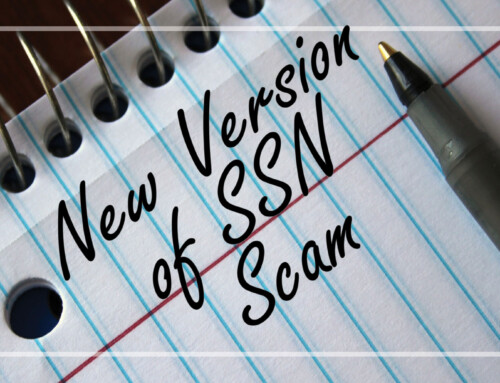 Lookout For New Version of SSN Scam