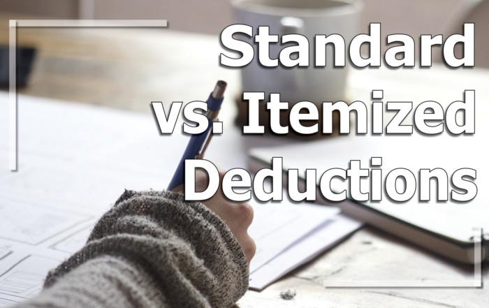 Standard vs Itemized Deductions