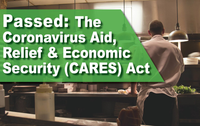 CARES Act Has Passed