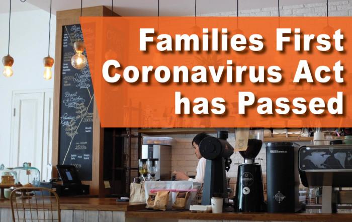 Family First Coronavirus Act Passed