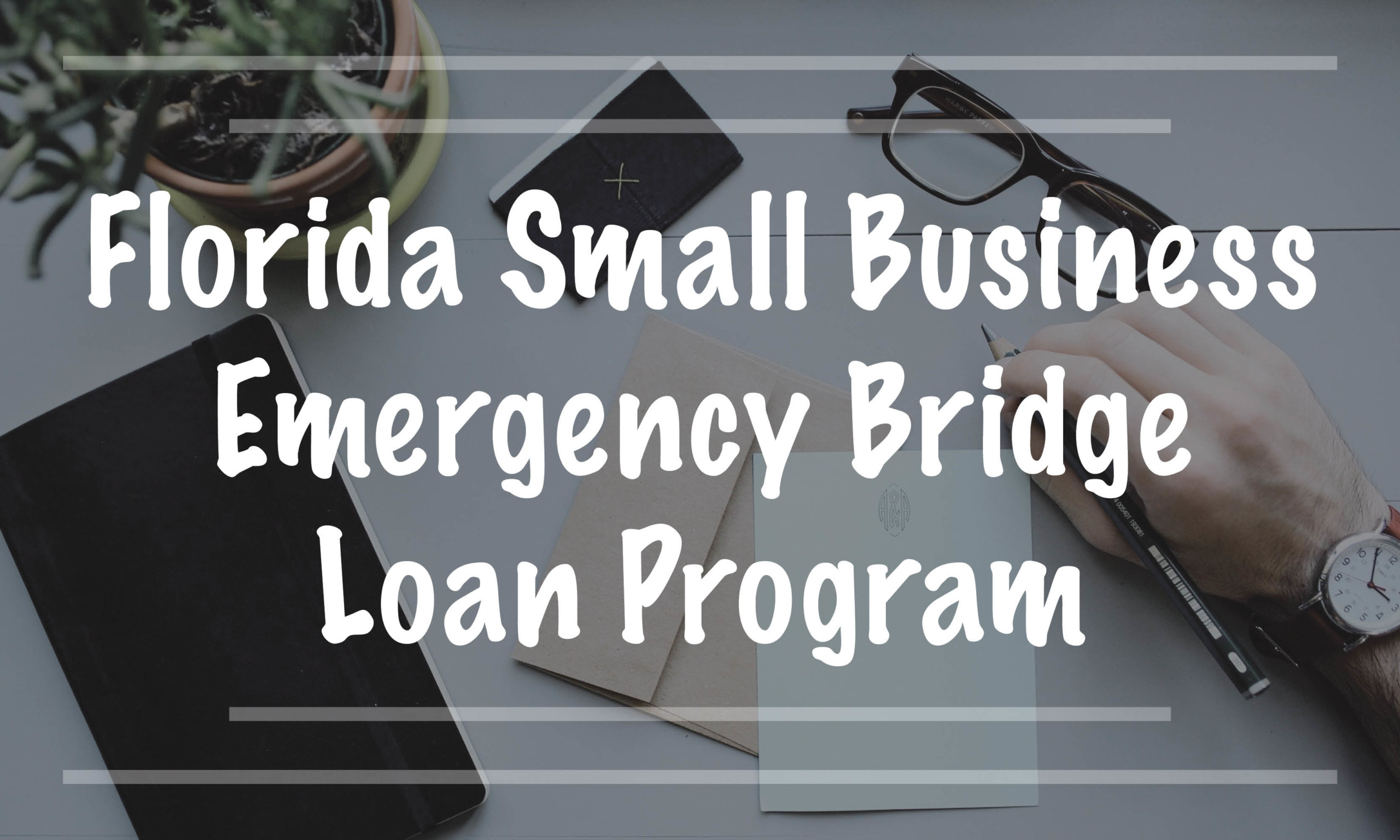 Florida Small Business Emergency Bridge Loan Program
