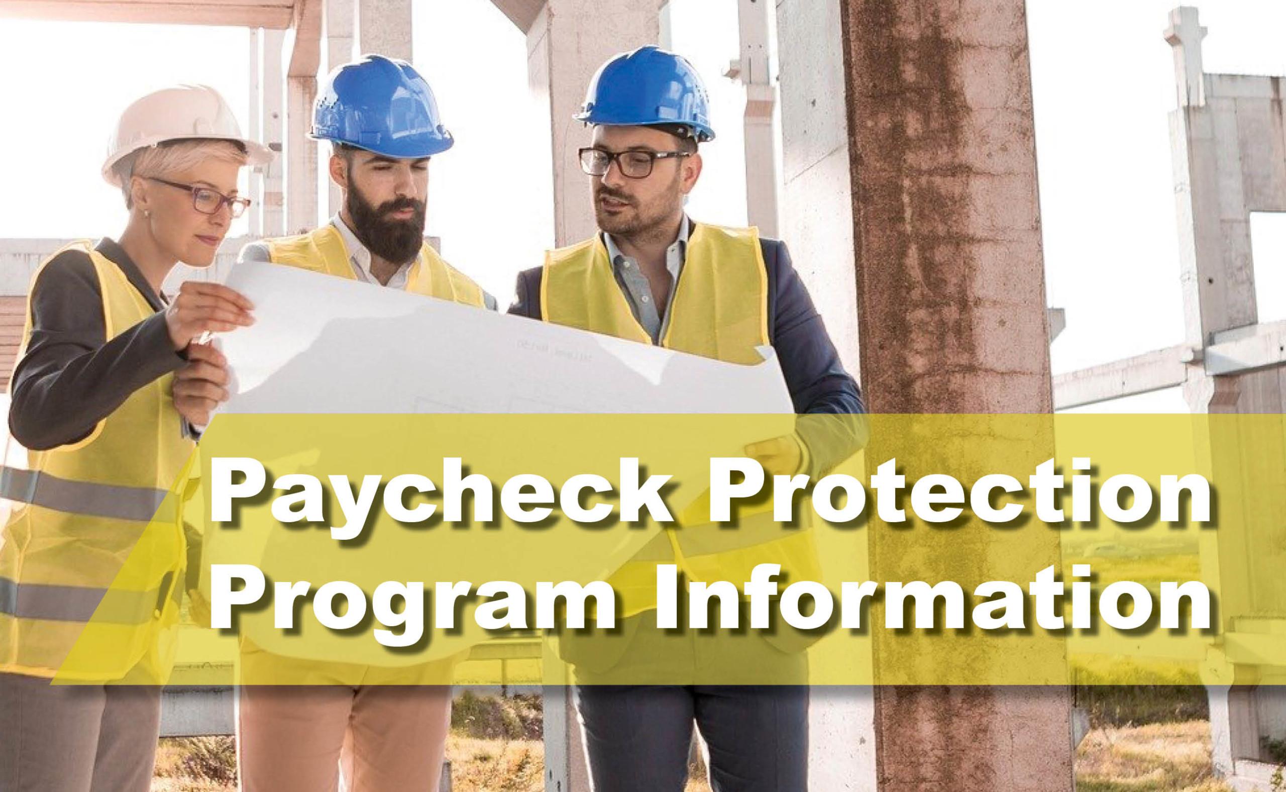 Paycheck Protection Program Information