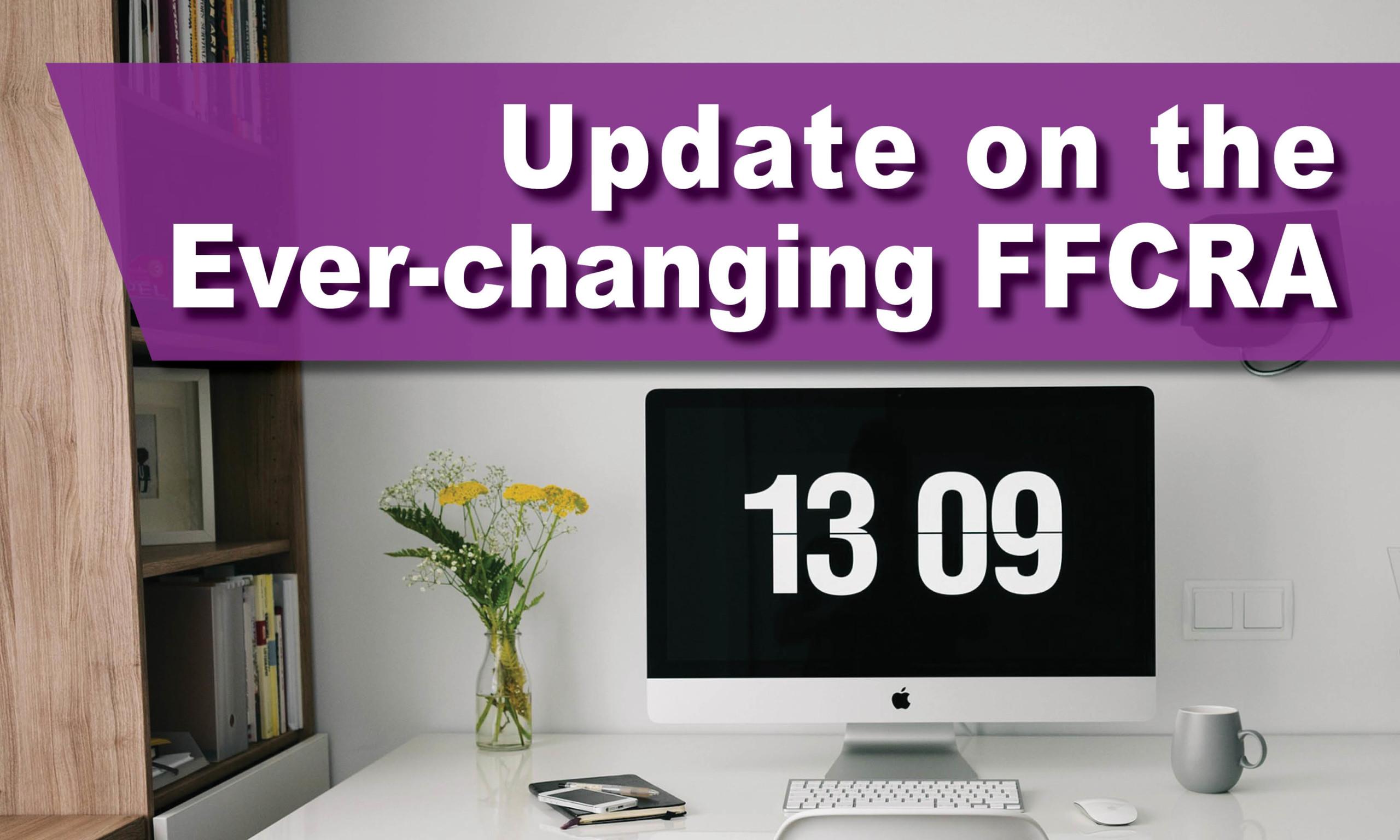 Updates to FFCRA