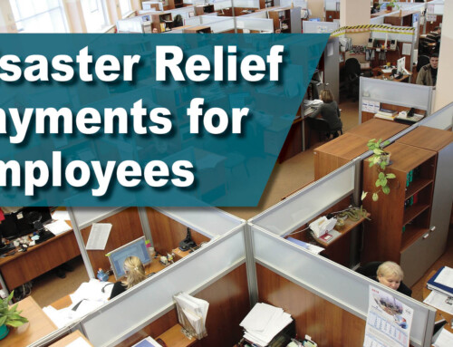 Disaster Relief Payments for Employees