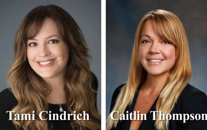 Tami C. and Caitlin T. headshots