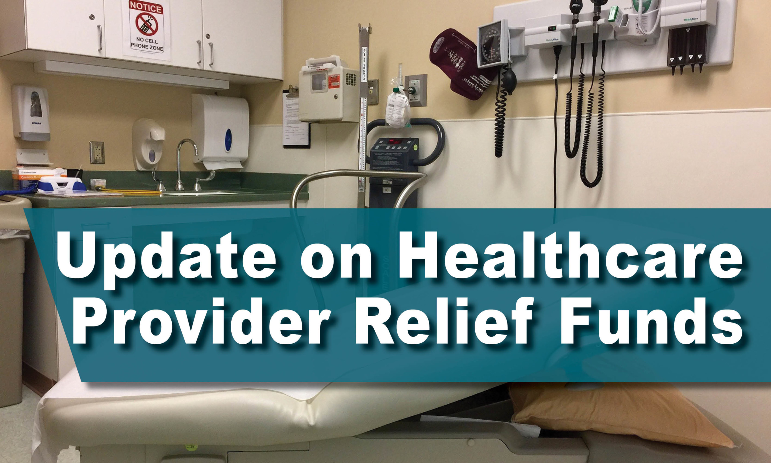 Update on Healthcare Provider Relief Funds