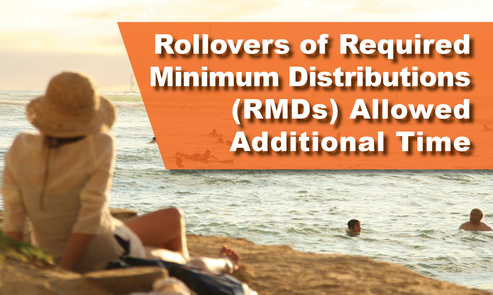 Rollovers of Required Minimum Distributions (RMDs) Allowed Additional Time
