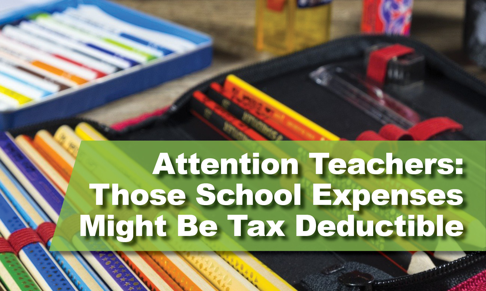 School Expenses Might Be Tax Deductible