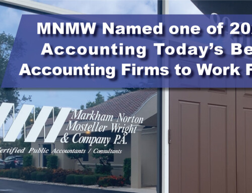 MNMW Named one of 2020 Accounting Today's Best Accounting Firms to Work For
