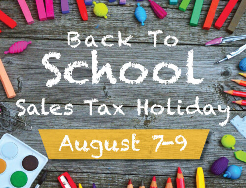 2020 Back-To-School Sales Tax Holiday