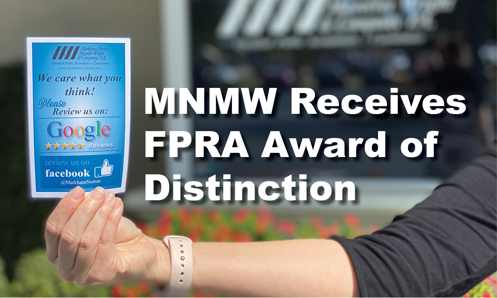 FPRA Award of Distinction