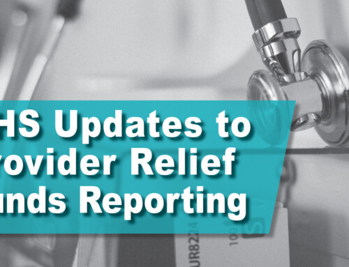 HHS Updates to Provider Relief Funds Reporting