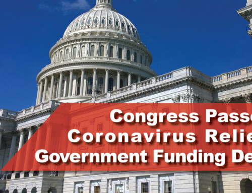 Congress Passes Coronavirus Relief, Government Funding Deal