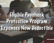 Eligible Paycheck Protection Program Deduction