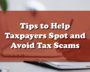 Spot and Avoid Tax Scams