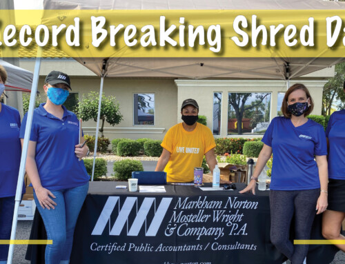 MNMW Hosted a Record-Breaking Shred Day Event to Benefit United Way