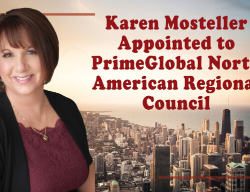 Karen Mosteller Appointed to PrimeGlobal North American Regional Council