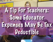Educator Tax Deduction